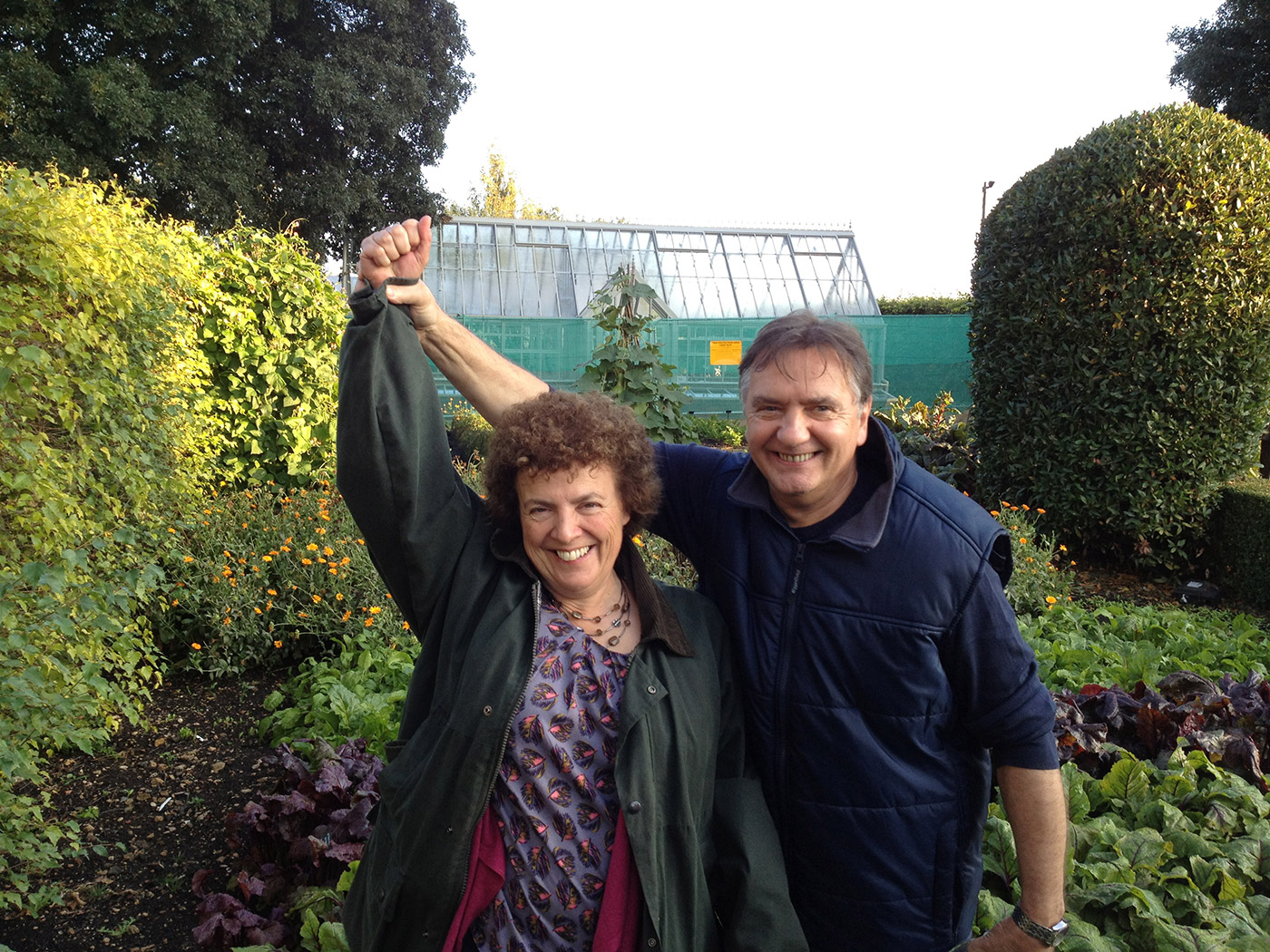 Anne with Raymond Blanc